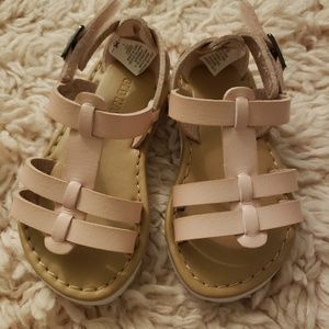 Old Navy Pink baby sandals. Size 5